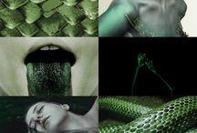 Serpent sisters