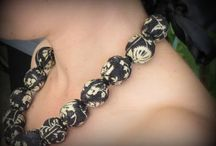 Fabric jewellery / Tutorials and inspiration for making fabric jewellery