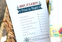 Baby Boy Shower / by Lindsey Brenneman
