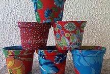 Artesanato vasinhos