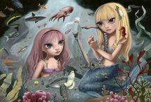 MERMAIDS AND SIRENS / Mermaids and Sirens