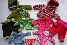 Tissus et habits poupées...