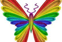 Rainbows of love not gold.. / by Sandee Dusbiber