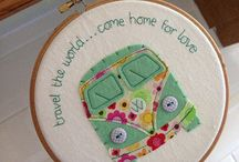 Embroidery hoops / by Lisa Reay