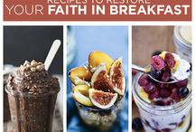 Breakfast Recipes / by Stacey Mitchell