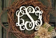 Monogrammed, yes please!!!! / by Melody Shaw