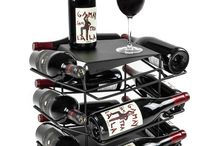 VINCENT wine rack / The Dutch made, rotating design wine rack and side table in one: www.vincentwinerack.com.