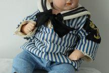 Vintage Dolls / Старые куклы с аксессуарами.