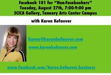 Social Media for Artists / by Karen Kefauver
