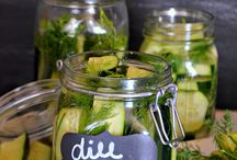 dill pickles / by Connie Olinger