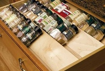 Kitchen organizing  / Ideas for corralling your kitchen items.