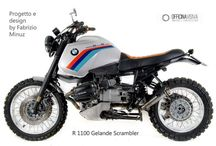 BMW R1100GS SCRAMBLER / Inspiración