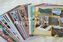 Project Life Memory Books / Creating a memory book using Project Life