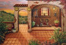 Домики дворики