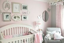 Pink & Gray Nursery Theme Ideas / Pink & Gray Nursery Theme Ideas  - Girl Nursery Ideas