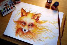 art red fox