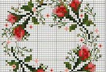 wzory z kwiatami