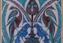 İznik motifi kuşlar