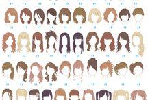 Dibujos de peinados