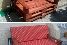 Paletes em móveis