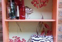 Mobiliario y deco hecho por el paraiso taller #elparaisotaller / Muebles creados reutilizando piezas de madera o otros muebles considerados ya viejos o rotos. Reutilizo los materiales para crear una nueva pieza.