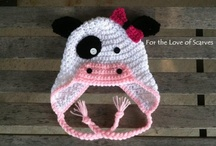 Crocheted animal hats / by Sherry Ray