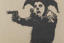 Mural: Stencils, Banksy & more