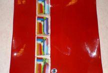 My Fused Glass / Original fused glass pieces made by Ilene Goldman  / by Ilene Goldman