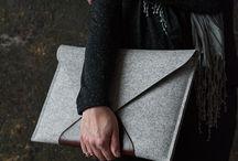 Wool/ felt bags