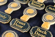 Downtown abbey cookies