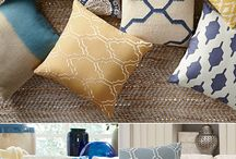Pillows, Patterns & More / textures, colors, patterns and fabric that inspires.
