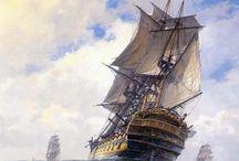 ships / by alan wallis