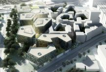 NORDEA Headquarters / NORDEA Headquarters 70.000m2. Competition 2011. Danish architect firm DISSING+WEITLING