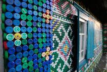 bottle top mosaics