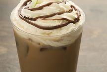 Eis und Eiskaffee
