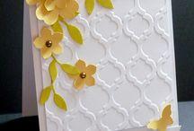 Cartes Flower shop / Carte réalisée avec le set de tampon flower shop de Stampin Up