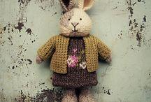 Rabbits - kaniner og andre tøjdyr