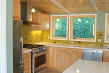 Kitchen Addition + Remodel, Berkeley Hills / A small addition as well as removing walls separating the Kitchen from the Dining and Living rooms.