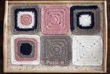 Knitting blankie