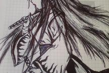 mis dibujos de anime