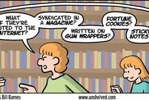Unshelved / Unshelved (comic strip) from Ambaum and Barnes. / by Merced College Library