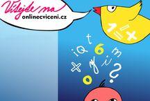online cvičení a pohádky