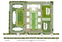 A unipark layout plan greater noida