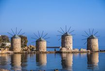 North East Aegean Islands / Explore the NE Aeagean Islands which are weighed down by history, surrounded by crystal clear waters, offering delicious products and dishes. Enjoy!!!