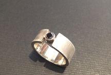 Håndlavede smykker / Sølvring
