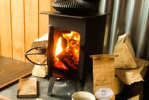 Wood Burning Stoves / A wood burning stove is perfect for relaxing evenings in the garden, for cooking or for glamping!