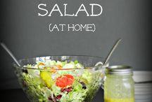 Salads / Dekoracje do domu
