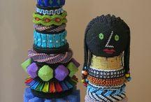 Beaded Dolls