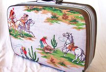Decorated Suitcases / by Pam Steele