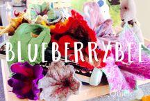 Blueberrybee / Mit  Herz und Hand selbstgemacht !